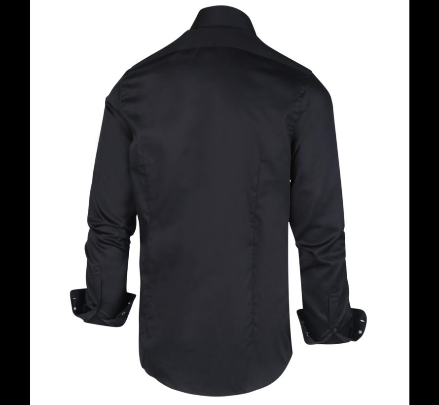 Overhemd Satijn Nick 1002 Navy (1002)N