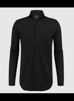Blue Industry Overhemd Jersey Oscar Zwart (Oscar)N