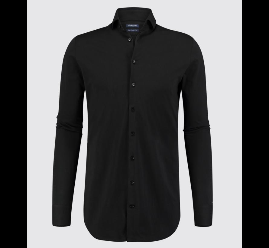 Overhemd Jersey Oscar Zwart (Oscar)N