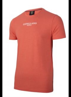 Cavallaro Napoli T-shirt Logo Regular Fit Coral (117211000 - 450000)