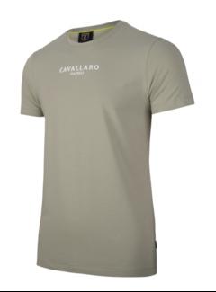 Cavallaro Napoli T-shirt Logo Regular Fit Mid Green (117211000 - 550000)