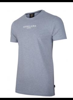 Cavallaro Napoli T-shirt Logo Regular Fit Light Blue (117211000 - 600000)