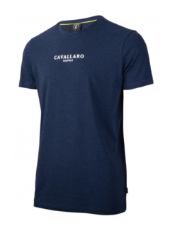 Cavallaro Napoli T-shirt Logo Regular Fit Dark Blue (117211000 - 699000)