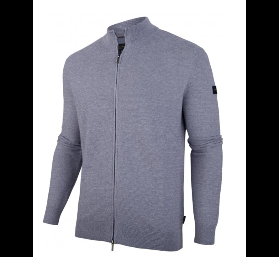 Vest Celino Cardigan Mid Blue (119211001 - 650000)