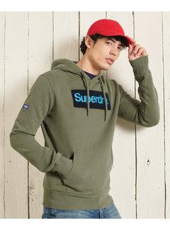 Superdry Hooded Sweater Core Logo Groen (M2011146A - M6B)