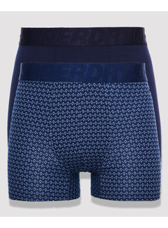 Superdry Boxershorts 2Pack Blauw (M3110036A - 3SH)