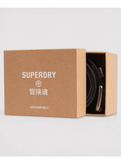 Superdry Riem Premium Boxed Leather Zwart (M9210029A - 02A)