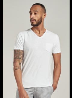 Dstrezzed T-shirt V-hals Stewart Wit (202636 - 100)