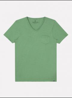 Dstrezzed T-shirt V-hals Stewart Ivy Green (202636 - 532)