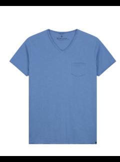 Dstrezzed T-shirt V-hals Stewart Sky (202636 - 628)