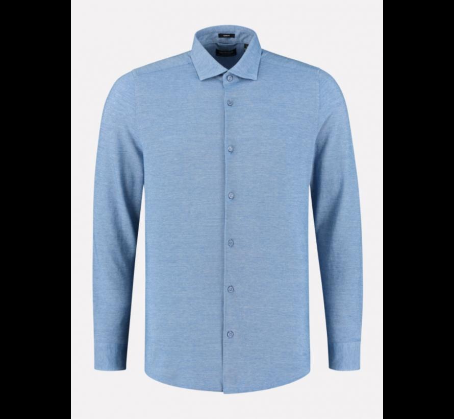 Overhemd Cut away boord Pique Sky (303414 - 628)