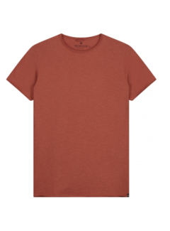 Dstrezzed T-shirt Ronde Hals Stone Rood (202274-SS21 - 410)