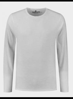 Dstrezzed T-shirt Lange Mouw Wit (202622 - 100)