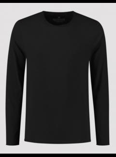 Dstrezzed T-shirt Lange Mouw Zwart (202622 - 999)