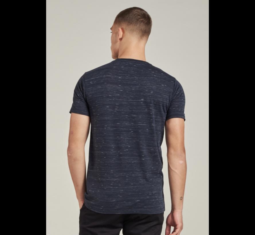 T-shirt Ronde Hals Navy Blauw (202656 - 649)