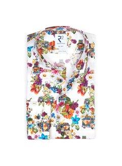 R2 Amsterdam Overhemd Extra Mouwlengte 7 Multicolor (112.WSP.XLS.093 - 073)