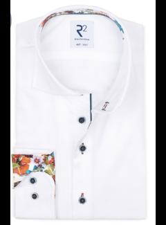 R2 Amsterdam Overhemd Extra Mouwlengte 7 Wit (112.WSP.XLS.094 - 004)