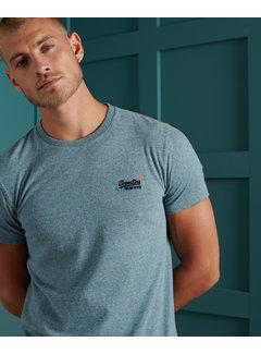 Superdry T-shirt Ronde Hals Desert Sky Blauw (M1010024A - Z7Z)