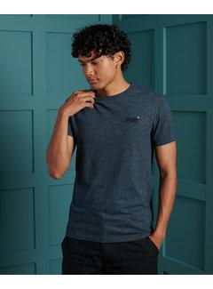 Superdry T-shirt Ronde Hals Navy Blauw (M1010024A - ZW4)