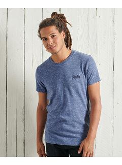 Superdry T-shirt Ronde Hals Tidal Blauw (M1010222A - 4EC)