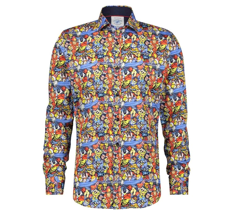 Overhemd Best of Brood Colorful (22.01.010)N
