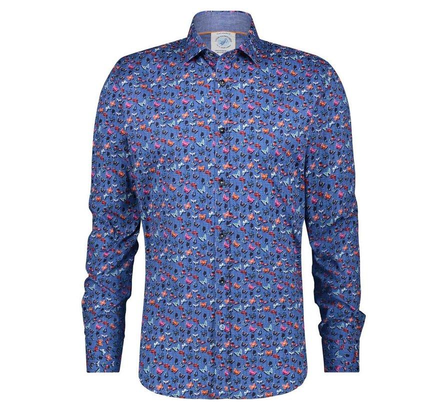 Overhemd Butterflies Blue (22.01.011)