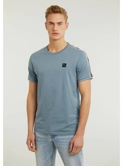 CHASIN' T-shirt Ronde Hals Barry Blue (5211.213.135 - E62)