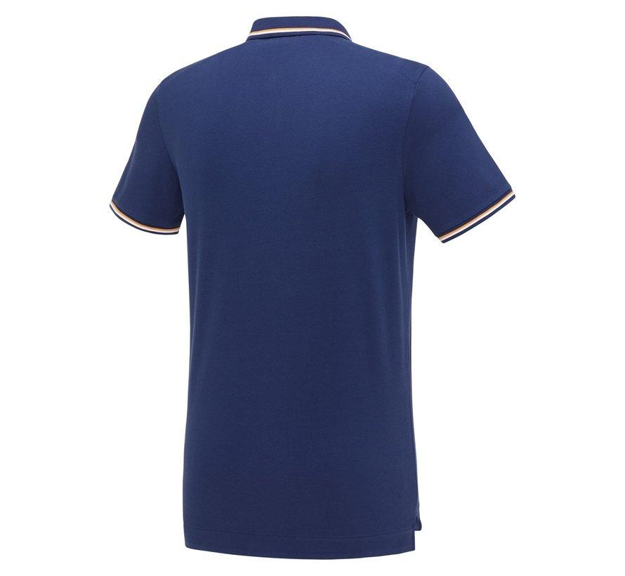 Polo Korte Mouw Blue (KBIS21 - M24)
