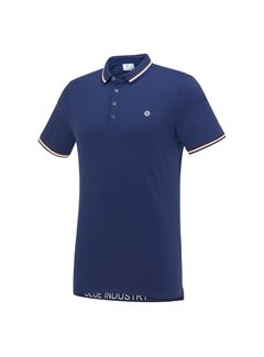 Blue Industry Polo Korte Mouw Blue (KBIS21 - M24)N