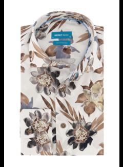 District Indigo Overhemd Print (7.11.026.741 - 307)