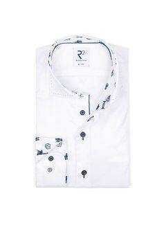 R2 Amsterdam Overhemd Wit (112.WSP.114 - 004)N