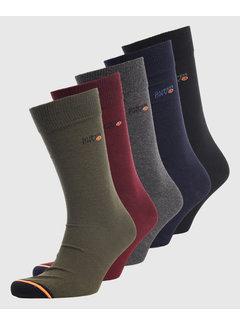 Superdry Sokken 5-Pack Multicolor (M3100001A - LAA)