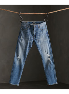 Superdry Jeans Slim Fit Blauw (M7010080A - 3BS)