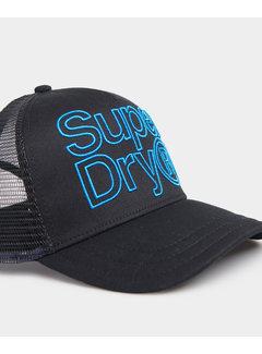 Superdry Cap Zwart (M9010003A - 0A2)