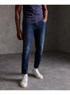 Superdry Jeans Skinny Fit Travis Donker Blauw (M70010NS - VE8)