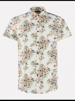 Dstrezzed Overhemd Print Bloemen Wit (311228 - 100)