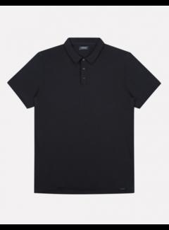Dstrezzed Polo Korte Mouw Zwart (405378 - 999)