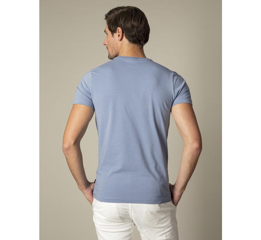 T-shirt Logo Regular Fit Mid Blue (117211000 - 650000)