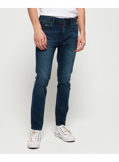 Superdry Jeans Skinny Fit Tyler Donker Blauw (M70011NS - VF6)
