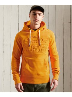 Superdry Hooded Sweater Vintage Logo Oranje (M2010437A - UKD)