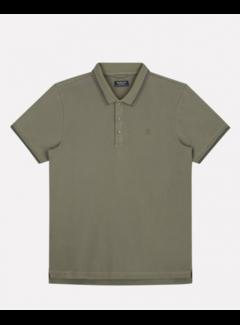 Dstrezzed Polo Korte Mouw Army Groen (202646 - 511)
