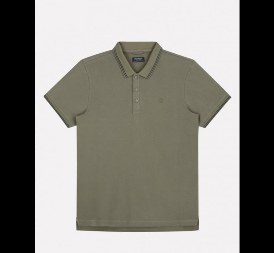 Polo Korte Mouw Army Groen (202646 - 511)
