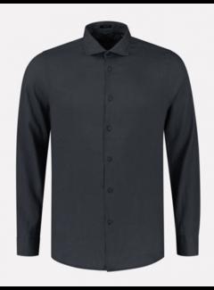 Dstrezzed Overhemd Linnen Navy Blauw (303426 - 649)