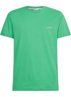 Calvin Klein T-shirt Ronde Hals Groen Campus (K10K103307 - L3K)