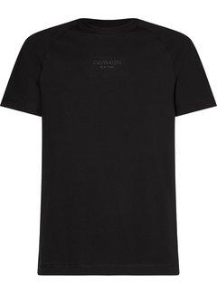 Calvin Klein T-shirt Ronde Hals Zwart (K10K106498 - BEH)