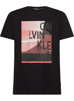 Calvin Klein T-shirt Ronde Hals Zwart (K10K106504 - BEH)