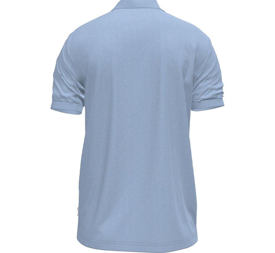 Polo Korte Mouw Blauw (K10K107090 - DU8)