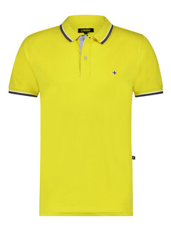 Haze&Finn Polo Korte Mouw Maize (MC15-0300 - Maize)