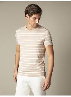 Cavallaro Napoli T-shirt Marino Streep Beige (117211002-825000)