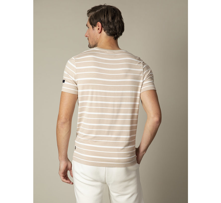 T-shirt Marino Streep Beige (117211002-825000)